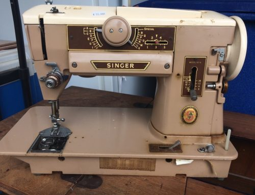 Singer 401A at an Estate Sale
